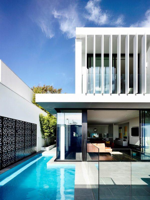 Pool ideas wrap around pool
