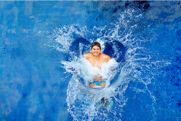 Keep Cool This Summer Jumping in Pool